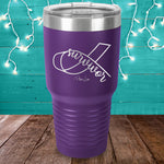 Survivor Ribbon Laser Etched Tumbler