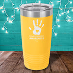 Down Syndrome Hands Laser Etched Tumbler