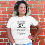 Girl Who Loved Dogs And Tattoos Curvy Apparel