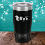 Country Music Love Laser Etched Tumbler