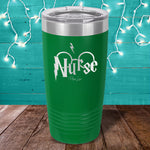 Potter Nurse Laser Etched Tumbler