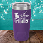 Grill Father Laser Etched Tumbler