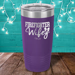 Firefighter Wifey Laser Etched Tumbler