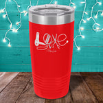 Hair Stylist Love Laser Etched Tumbler