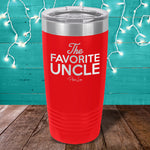 The Favorite Uncle Laser Etched Tumbler