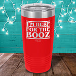 Here For The Booze Stranger Things Laser Etched Tumbler