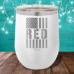 Remember Everyone Deployed 12oz Stemless Wine Cup