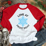 Love At Frost Sight Christmas Raglan (Unisex)