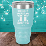 Gangsta Wrapper Laser Etched Tumbler