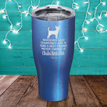 Never Owned A Chihuahua Laser Etched Tumbler