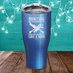 Hunting Boss Duck Laser Etched Tumbler