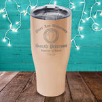 PL University Associate of Snark (CUSTOM) Laser Etched Tumbler