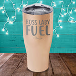 Boss Lady Fuel Laser Etched Tumbler