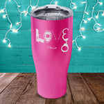 BLACK FRIDAY SPECIAL - Police Love Laser Etched Tumbler