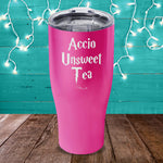 Accio Unsweet Tea Laser Etched Tumbler