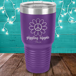 Giggling Hippie Laser Etched Tumbler