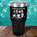 Horror Friends Laser Etched Tumbler