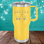 Pretty In Ink 20oz Travel Mug