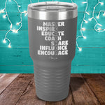 Teacher Acronym Laser Etched Tumbler