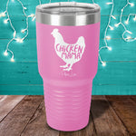 Chicken Mama Laser Etched Tumbler