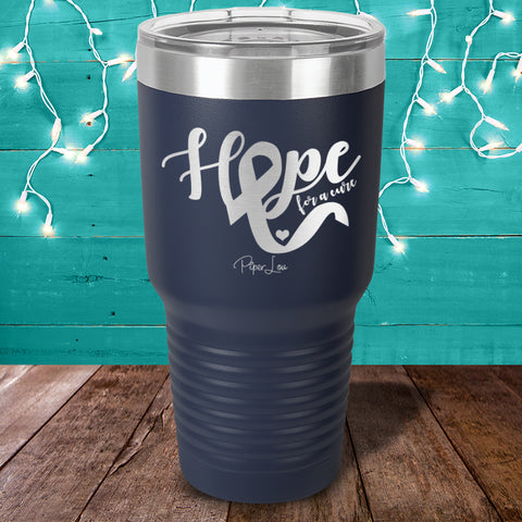 100% Donation - Diabetes Hope For A Cure Laser Etched Tumbler
