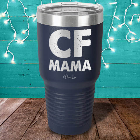 100% Donation - Cystic Fibrosis Mama Laser Etched Tumbler