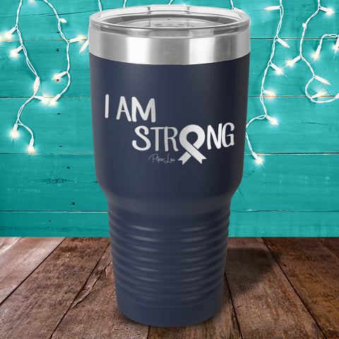 Donation | MS I Am Strong Laser Etched Tumbler