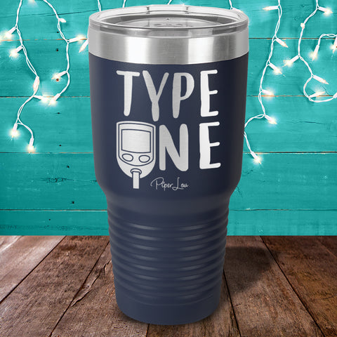 100% Donation - Diabetes Type One Laser Etched Tumbler