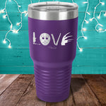 Horror Love Laser Etched Tumbler