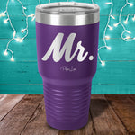 Mr. Laser Etched Tumbler