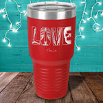 X-Ray Tech Love Laser Etched Tumbler