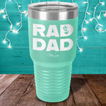 Rad Dad Laser Etched Tumbler