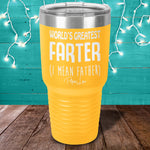 BLACK FRIDAY SPECIAL - World's Greatest Farter Laser Etched Tumbler