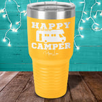 Happy Camper RV Laser Etched Tumbler