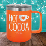 Hot Cocoa 15oz Coffee Mug Tumbler