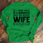 Proud Spouse Men's Apparel