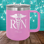 RN Nurse 15oz Coffee Mug Tumbler