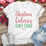 Christmas Calories Don't Count Christmas Raglan (Unisex)