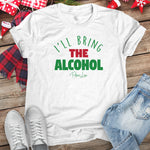 I'll Bring The Alcohol Christmas Raglan (Unisex)
