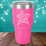 Salty Kisses & Starfish Wishes Laser Etched Tumbler