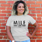 MILF Man I Love Food Curvy Apparel