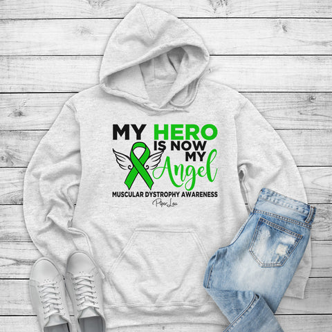 100% Donation - Muscular Dystrophy - My Hero Is Now My Angel Winter Apparel