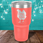 Crazy Chick Laser Etched Tumbler