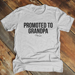 Promoted To Grandpa Men's Apparel