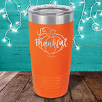 Thankful Laser Etched Tumbler