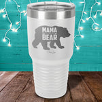 Mama Bear Laser Etched Tumbler