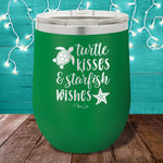 Turtle Kisses And Starfish Wishes Stemless Wine Cup