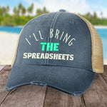 I'll Bring The Spreadsheets Hat