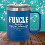 Funcle 15oz Coffee Mug Tumbler