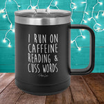 Run On Reading 15oz Coffee Mug Tumbler